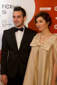 Our wonderful actors at the Gijón Festival gala