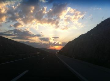 The final km into Zadar