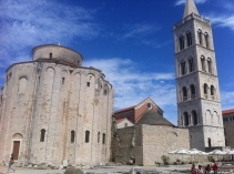 St. Donat on Zadar's main square