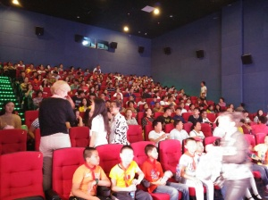 Full House at our Movie's Screening